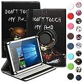 UC-Express Schutzhülle kompatibel für Samsung Galaxy Tab 3 Lite 7.0 Tablet Hülle Tasche...