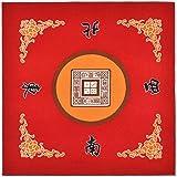 Tischdecke für Universal Mahjong/Paigow/Poker/Dominos/Spieltisch Cover, rutschfeste Matte 31,5' x...