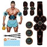 iThrough bauchmuskeltrainer wiederaufladbar - Fast Weight Loss,Muskelstimulator,EMS...