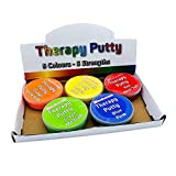 Therapeutische Knete, Premium-Set, 5 Stück, quetschbar, ungiftig, für Handübungen, Anti-Stress, 5...