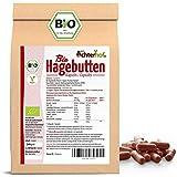 Hagebuttenkapseln Bio Nachfüllpack   400 Stück   direkt vom Achterhof