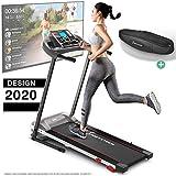 Sportstech F10 Laufband Modell 2020 - Deutsche Qualitätsmarke + Video Events & Multiplayer APP –...