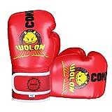 Kinder Boxhandschuhe 4oz Kinder Cartoon Sparring Boxhandschuhe Training Mitts Junior Punch PU Leder...