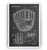 Baseballhandschuh 1971 Patent Poster - Baseball Glove Jahrgang Drucke Drucken Bild Kunst Geschenke...