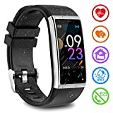 Fitness Armband mit Pulsmesser Fitness Tracker mit Blutdruckmessung Pulsuhren Fitness Uhr...