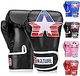 Boxhandschuhe für Training, Stanzen, Muay Thai, Sparring, Grappling, Kickboxen, Fokuspads,...