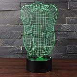Touch Licht 3D LED Nachtlicht Dental Tischlampe 3D Zahn Modell Design Kinder Geschenk Geschenk...