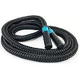aerobis Battle Jump Rope   1,7 kg schweres Springseil   Geschmeidig und flexibel   Tau mit hohem...