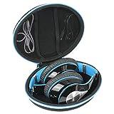 Hart Reise Schutz Hülle Etui Tasche für Mpow 059 Bluetooth Kopfhörer von co2CREA