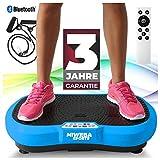 Miweba Sports Fitness 2D Vibrationsplatte MV100-3 multidimensionale Vibrationszonen - Oszillierend -...