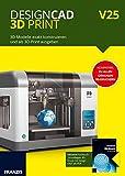 FRANZIS DesignCAD 3D Print V25, Software für Windows V25 3 - Windows PC Disc Disc