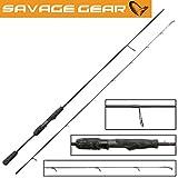 Savage Gear Black Savage Spin 231cm 9-32g Spinnrute, Spinnruten, Rute für Barsch, Forelle & Zander,...