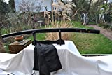 Handgeschmiedetes-Gefaltetes Damaszener Samurai Schwert Shirasaya