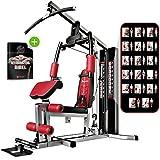 Sportstech Einzigartige 45in1 Premium Kraftstation HGX100/HGX200 für unzählige Trainingsvarianten...