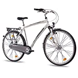 CHRISSON 28' Zoll ALU City Bike TREKKINGRAD HERRENFAHRRAD SERETO 2.0 mit 3G Shimano Nexus StVZO...