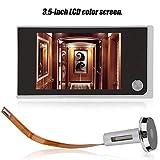 Mugast Digitaler Türspion,120 Grad Sichtwinkel 3.5 Zoll LCD Display Digital Türkamera...