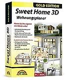 Sweet Home 3D Wohnungsplaner - mit zusätzlichen 1.100 3D Modelle und gedrucktem Handbuch, ideal...