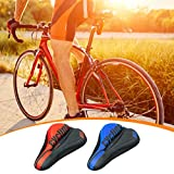 YUTK Fahrradsattel, künstliches Fett-Fahrradsattel, ergonomischer Fahrradsitz, atmungsaktiv,...