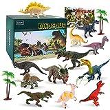 BeebeeRun Dinosaurier Spielzeug für Kinder,15 Stück Dinosaurier Figuren Set,Dinosaurier Spielzeug...