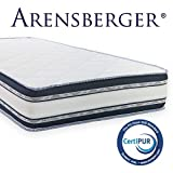 Arensberger ® Relaxx 9 Zonen Wellness Matratze mit 3D-Memory Foam, 90cm x 200cm, Höhe 25cm,...