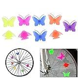 Broadroot Perlen für Fahrrad-Speichen, farbenfrohe Dekoration für Räder, aus Kunststoff, für...