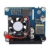 Erweiterungsplatine des Lüftermoduls Erweiterungsplatine Lüftermodul für Raspberry Pi 4B / 3B + POE Ethernet Power Onboard-Lüfter