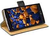 mumbi Echt Leder Bookstyle Case kompatibel mit LG G4C / Magna Hülle Leder Tasche Case Wallet,...