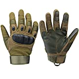 Xnuoyo Gloves Gummi Hart Vollfinger und Halbe Fingerhandschuhe Schutzhandschuhe Touchscreen...
