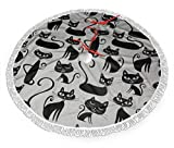shetaonongbaihuodian Whiskers Tails Cats Weihnachtsbaumrock Classic Holiday Decorations 30 36 48...