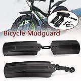 HCHD Cycling Bike Fender Parts Fahrradschutzblech MTB Berg 20-26 Zoll Bike Mud Flügel vorne...