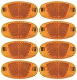 P4B | 8X Speichen Reflektoren | mit Nirosta Klammern | mit starker Reflektionsfunktion und...