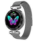 HAHALE Frauen-Smart Watch Bluetooth Armband IP67 wasserdichte 1,08 Zoll-HD-Bildschirm glänzendes...