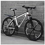 NENGGE 26 Zoll Mountainbike, Scheibenbremsen Hardtail MTB, Trekkingrad Herren Bike Mädchen-Fahrrad,...