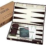 Backgammon Spiel - 15 Zoll Backgammon Holz Set von Jaques