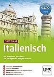 First Class Italienisch: Der komplette Sprachkurs für Anfänger und Fortgeschrittene / Paket: 4...