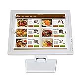 15' Touchscreen Monitor Kassenmonitor LED Anzeigebildschirm HDMI Kassensystem 1024 X 768 für Kassensystem POS VOD System