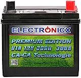 Electronicx U1R 30Ah 300A Green Power Batterie Rasentraktor Aufsitzrasenmäher Gartengeräte...