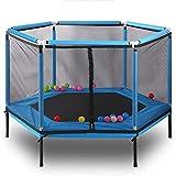 Shining Mini-Trampolin, Außen Kinder Trampolin mit Schutznetz, Innen Kleine Trampoline, Adjustable,...