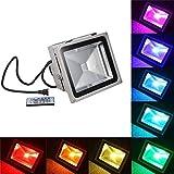 EVFIT LED-Fernbedienung, 10 W, IP65, Tageslicht, Weiß, ideal für Forecourt, Garten, Rasen und...