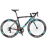SAVADECK Warwind3.0 Rennrad 700C Carbon Rahmen Fahrrad mit Shimano SORA 18-Fach Kettenschaltung...