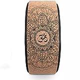 LCZ Rad Yoga Naturkork - High Roller Premium-Entworfen vom Rad der Dharma Yoga-Pose, Push-Ups zu...