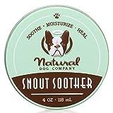 Natural Dog Company Snout Soother 118 ml | Hunde Nasenbalsam für rissige, trockene und borkige Hundenasen | rein natürlich und vegan