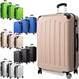 KESSER 3tlg. Hartschalenkofferset Hard Shell Basic Hartschalenkoffer Trolley Koffer Reisekoffer...