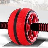 Kppto Laufrolle, geräuscharm, TPR Bauchmuskeltrainer, Trainingsgerät für Heim-Fitness, Training,...