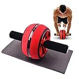 Kppto Abdominal- Rad-Rolle Core Training Roller Bauchtraining Ausrüstung Männer Bodybuilding...