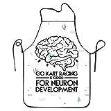 N/A Go Kart Racing is Good for Neuron Entwickeln BBQ Küche Kochschürze