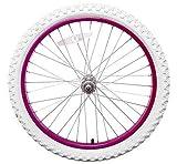 Swallow 20 ' Heck Fuchsienrosa Rad mit Weißen Reifen für Kinder/Kinder Fahrrad