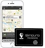 SLIMPURO Tracker Karte mit Bluetooth - Geldbörse Finder, Sucher - Handy Finder - GPS Ortung /...
