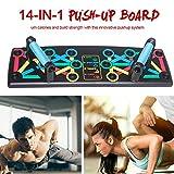 Inciple 14-in-1 Push Up Rack Board Für Fitness-Studio Bodybuilding Workout Train