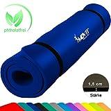 Movit XXL Pilates Gymnastikmatte, Yogamatte, phthalatfrei, SGS geprüft, 190 x 100 x 1,5cm,...